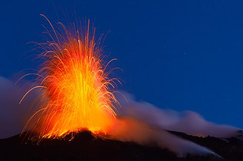 Vulkan Stromboli, vulcano Stromboli