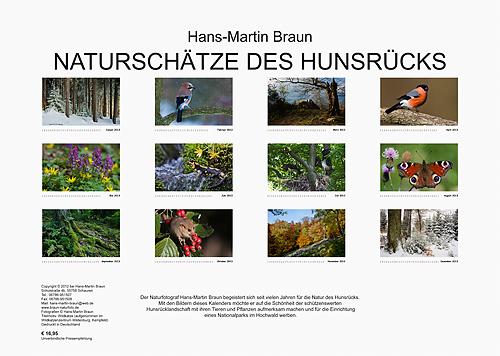 Kalender 2013 Rückseite